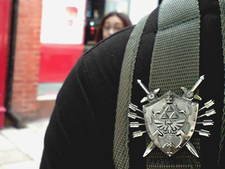 The coolest pin badge ever!