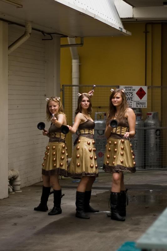 The Dalekettes. Rwarr!