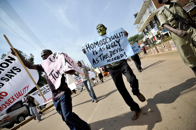 Homophobia in Africa.